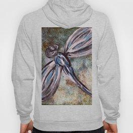 Rustic Dragonfly Art Hoody