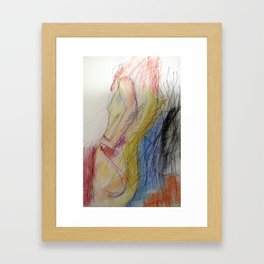 Klooster Series: Female Nude #11 Framed Art Print