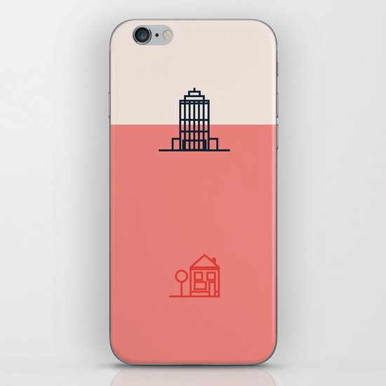 City to Village iPhone & iPod Skin