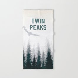 Twin Peaks - The owls are not what they seem Hand & Bath Towel