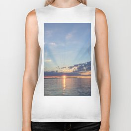A Seattle Sunset Biker Tank