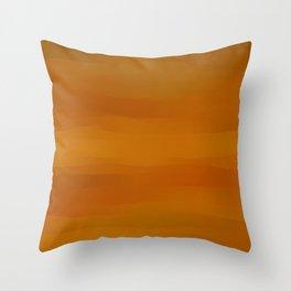 Warm Butterscotch Pecan Pie Throw Pillow