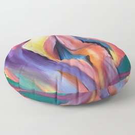 Internal Stardust Floor Pillow