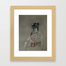 Mike Trout Framed Art Print