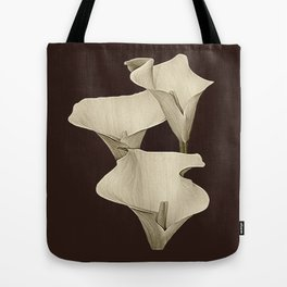 Cream Calla Lilly. Tote Bag