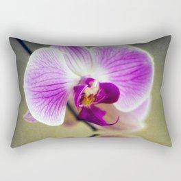 Orchid Reflections Rectangular Pillow
