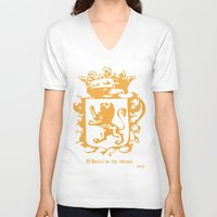 narnia V-neck T-shirts featuring King by John Choi King