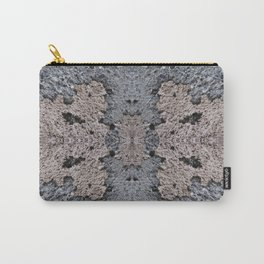 Brown Crumble Concrete Carry-All Pouch