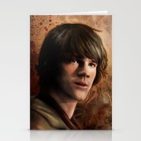 winchester Stationery Cards featuring Sam Winchester by Jackie Sullivan