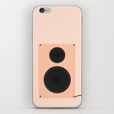 #60 Speaker iPhone & iPod Skin