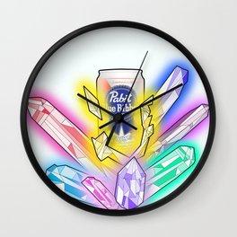 Party Crystals Wall Clock