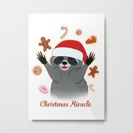 Christmas Miracle Metal Print