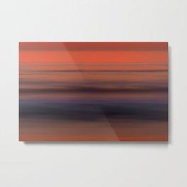 Torrey Pines Sunset Long Exposure Panorama Sweep Metal Print