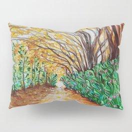 A Walk Through Yellow Pillow Sham