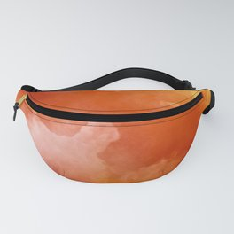 Sunset Glow Abstract Art Fanny Pack