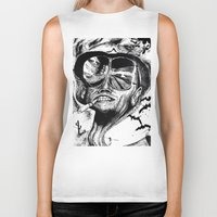 fear and loathing Biker Tanks featuring Fear and Loathing by Tufty Cookie