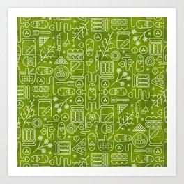 Pickles Picnic Art Print
