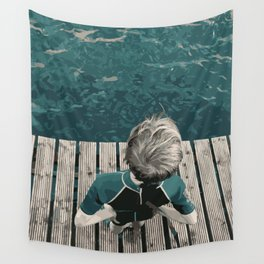 Holding Back Wall Tapestry
