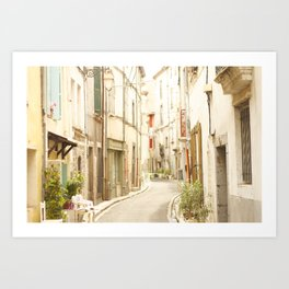French Old Town Art Print