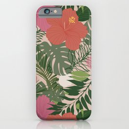 Spotted Tropics iPhone Case