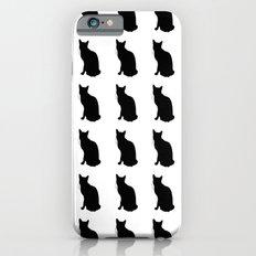 Cats 1 Black iPhone 6 Slim Case
