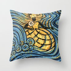 Orixás - Oxum Throw Pillow