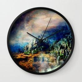 Cosmic Xanadu Wall Clock