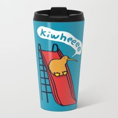 Kiwi Metal Travel Mug