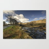 cassia beck Canvas Prints featuring Cockley Beck  by Rob Hawkins Photography