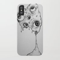 the thing iPhone & iPod Cases featuring Thing by Isabel Peace