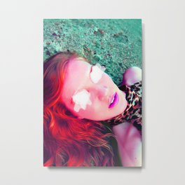 Another Red Head  Metal Print