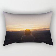 one sunday at a time Rectangular Pillow