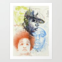 Art Print featuring  Ready to Die  by Podessto
