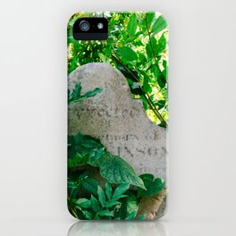 Charleston Unitarian Church Cemetery IV iPhone Case