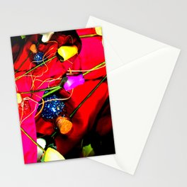 Plastic Flowers 1 Stationery Cards