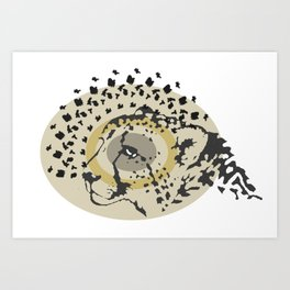 Chetah Art Print