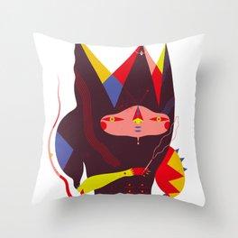 Otite Throw Pillow