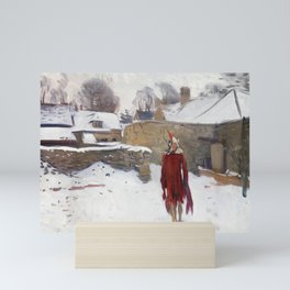 John Singer Sargent, Mannikin in the Snow,1891 Mini Art Print