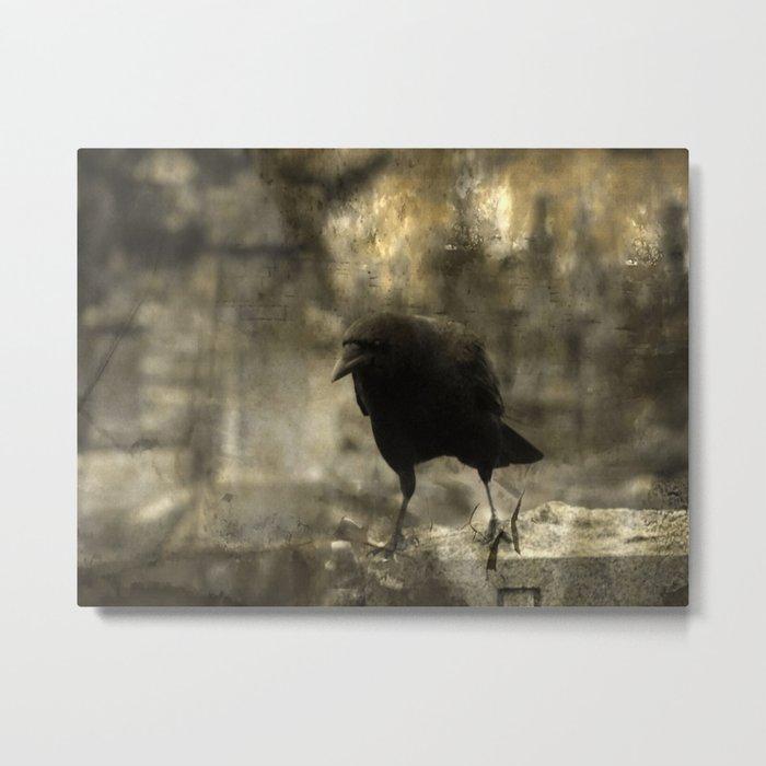Angry Bird Metal Print