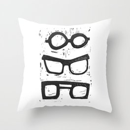 What to wear? Throw Pillow