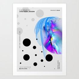 Cruella De Vil - Abstract Poster Art Print