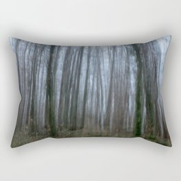 Scary forest Rectangular Pillow