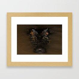 Pure Evil Framed Art Print