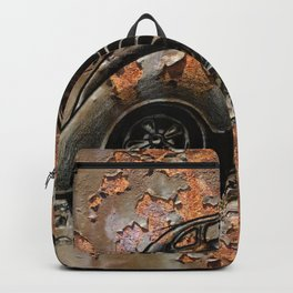 1938 Rusty chevy gasser-1 Backpack