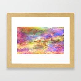Colourful Art Framed Art Print