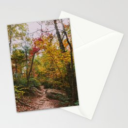 Kentucky Autumn at Natural Bridge State Park Stationery Cards