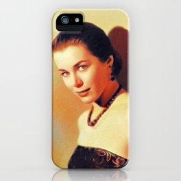 Marianne Koch, Vintage Actress iPhone Case