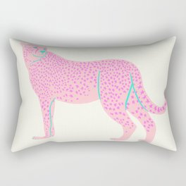 PINK STAR CHEETAH Rectangular Pillow