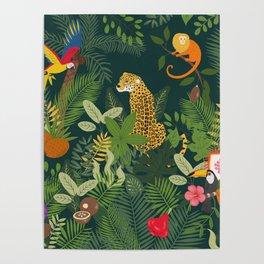 Amazon Jungle Poster