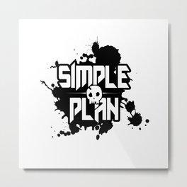 Simple Plan Metal Print